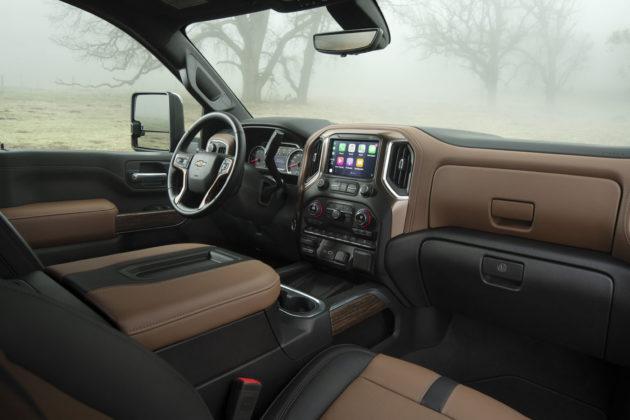 2020 Chevrolet Silverado HD Interior