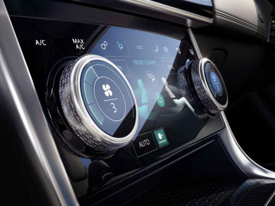 2020 Jaguar XE Center Touch Screen