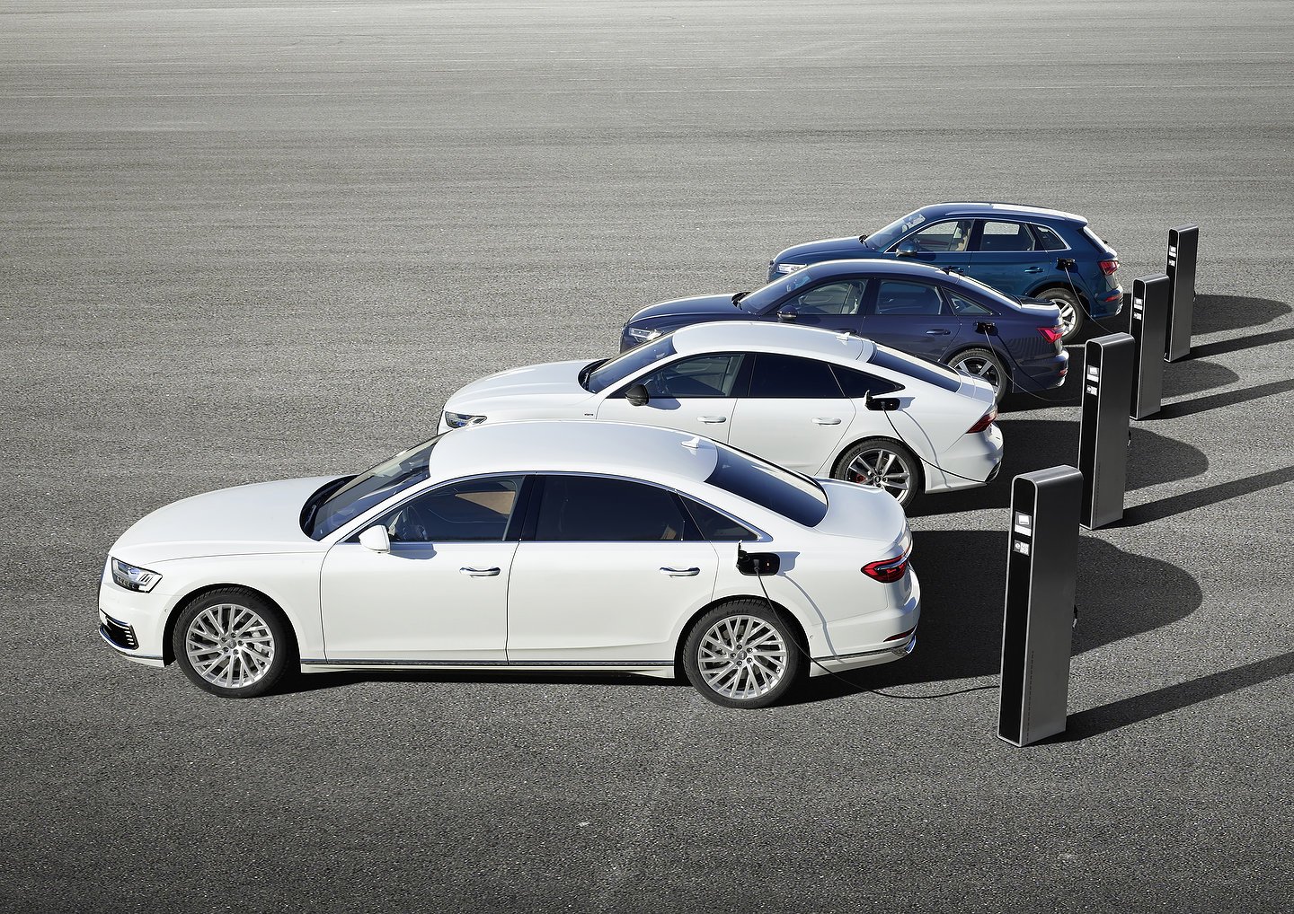 Audi Q5, A6, A7 and A8 PHEV