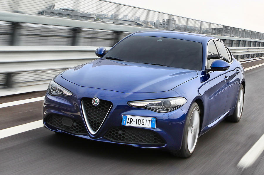 Alfa Romeo Giulia front plate
