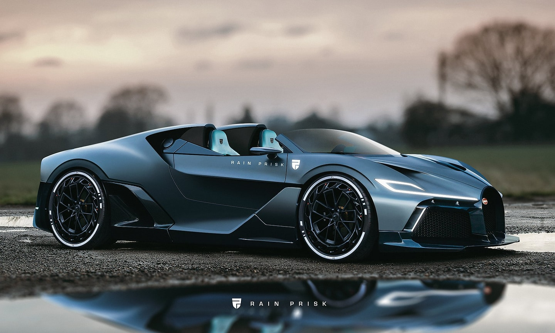 Bugatti Divo Speedster Render