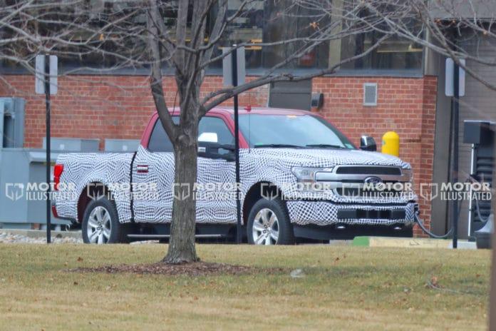 Ford F-150 EV Caught Testing