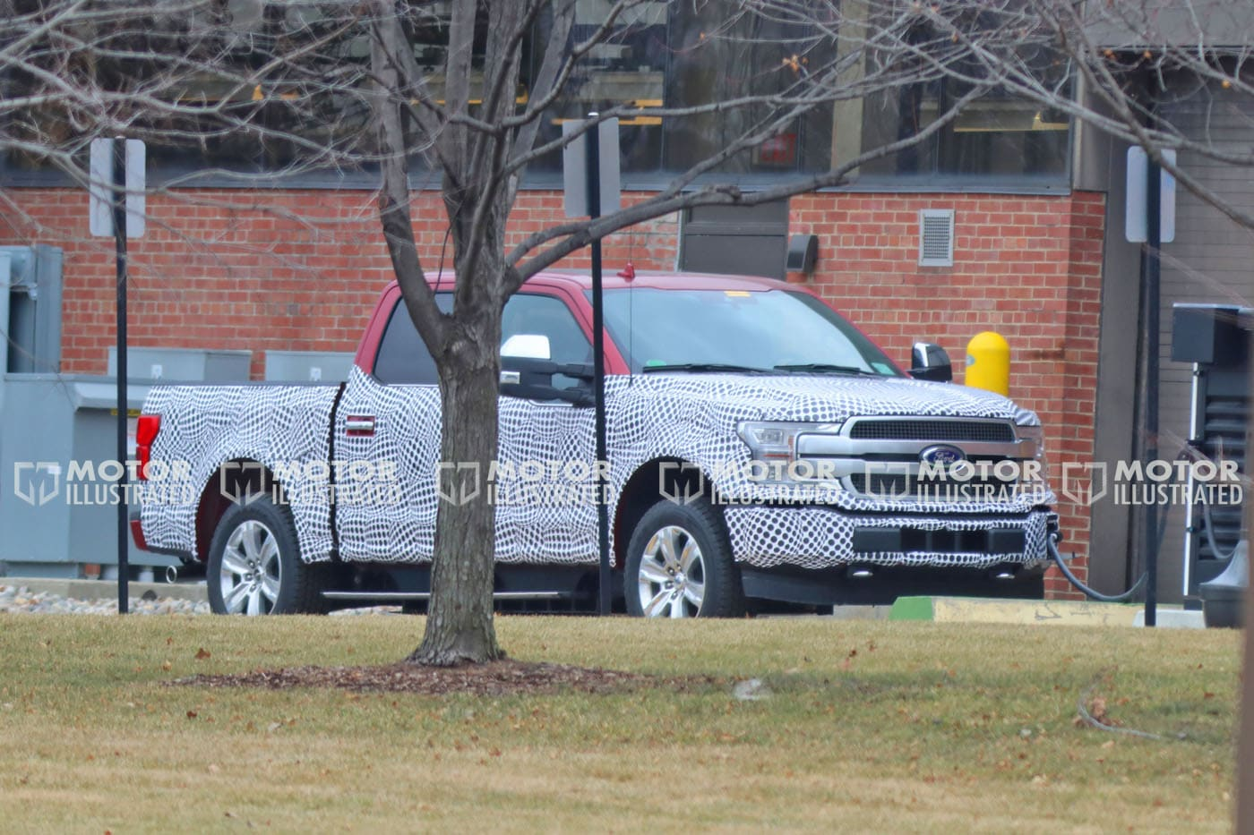 Ford F-150 EV Caught Testing