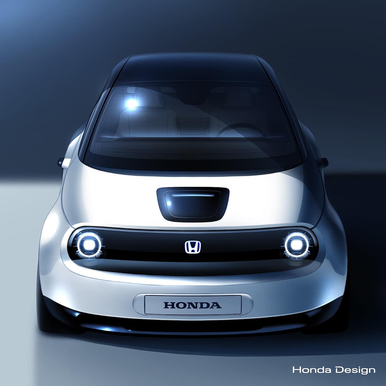 Honda's new compact EV prototype Geneva 2019