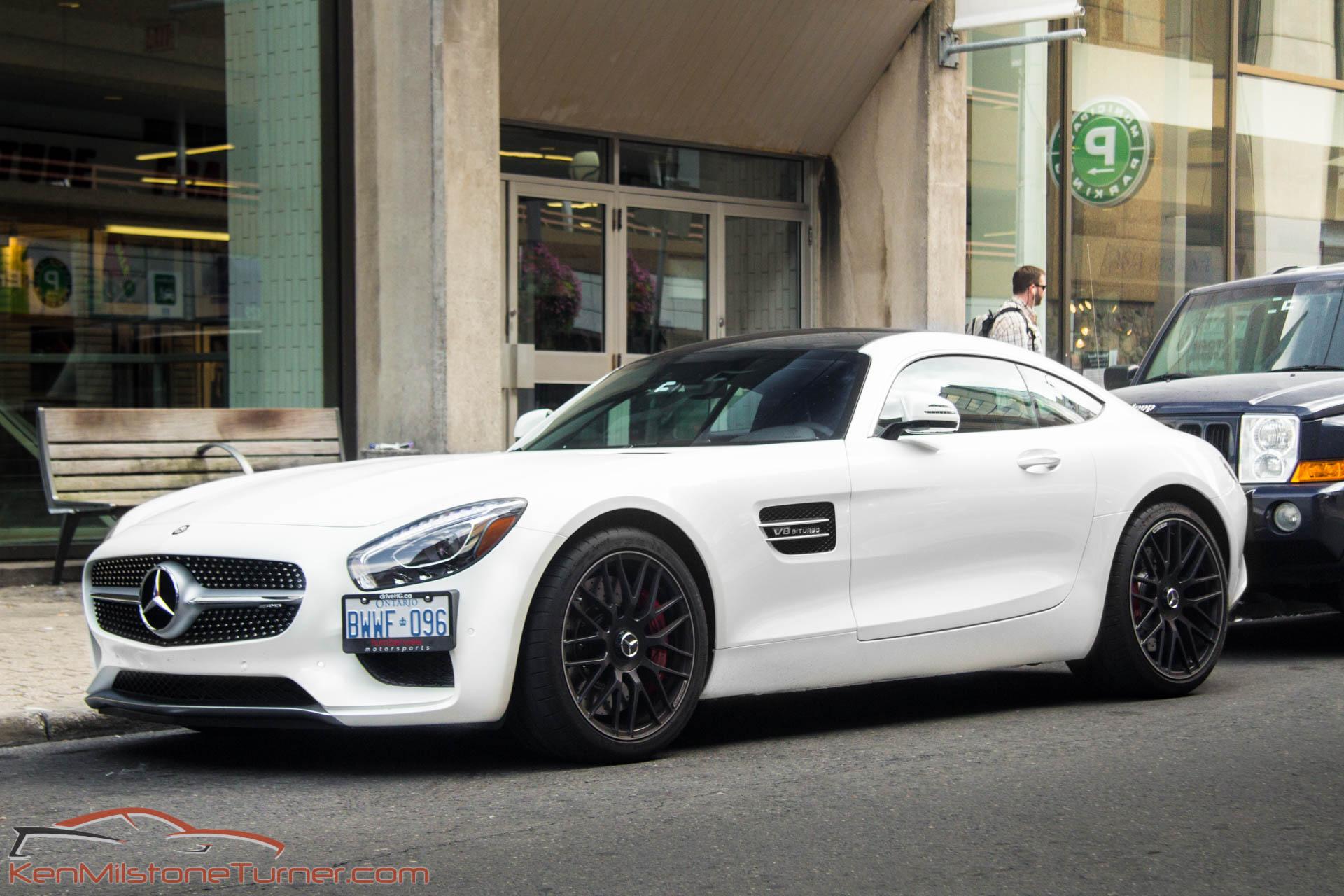 Mercedes-AMG GT side plate