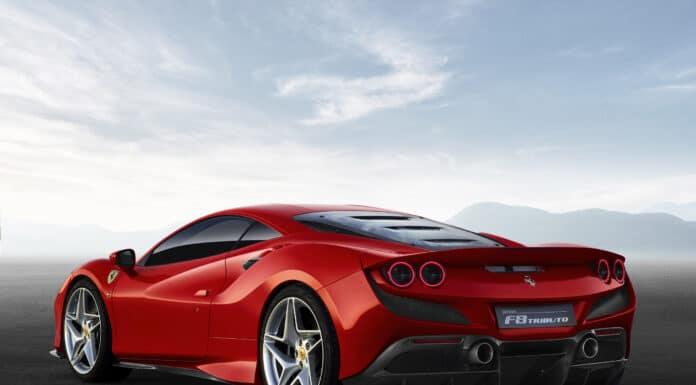 New Ferrari F8 Tributo