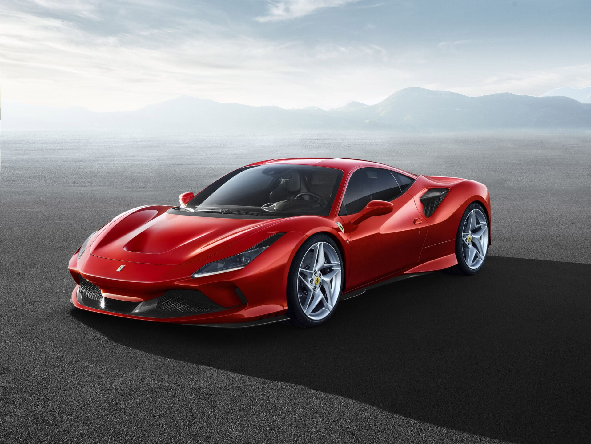 New Ferrari F8 Tributo