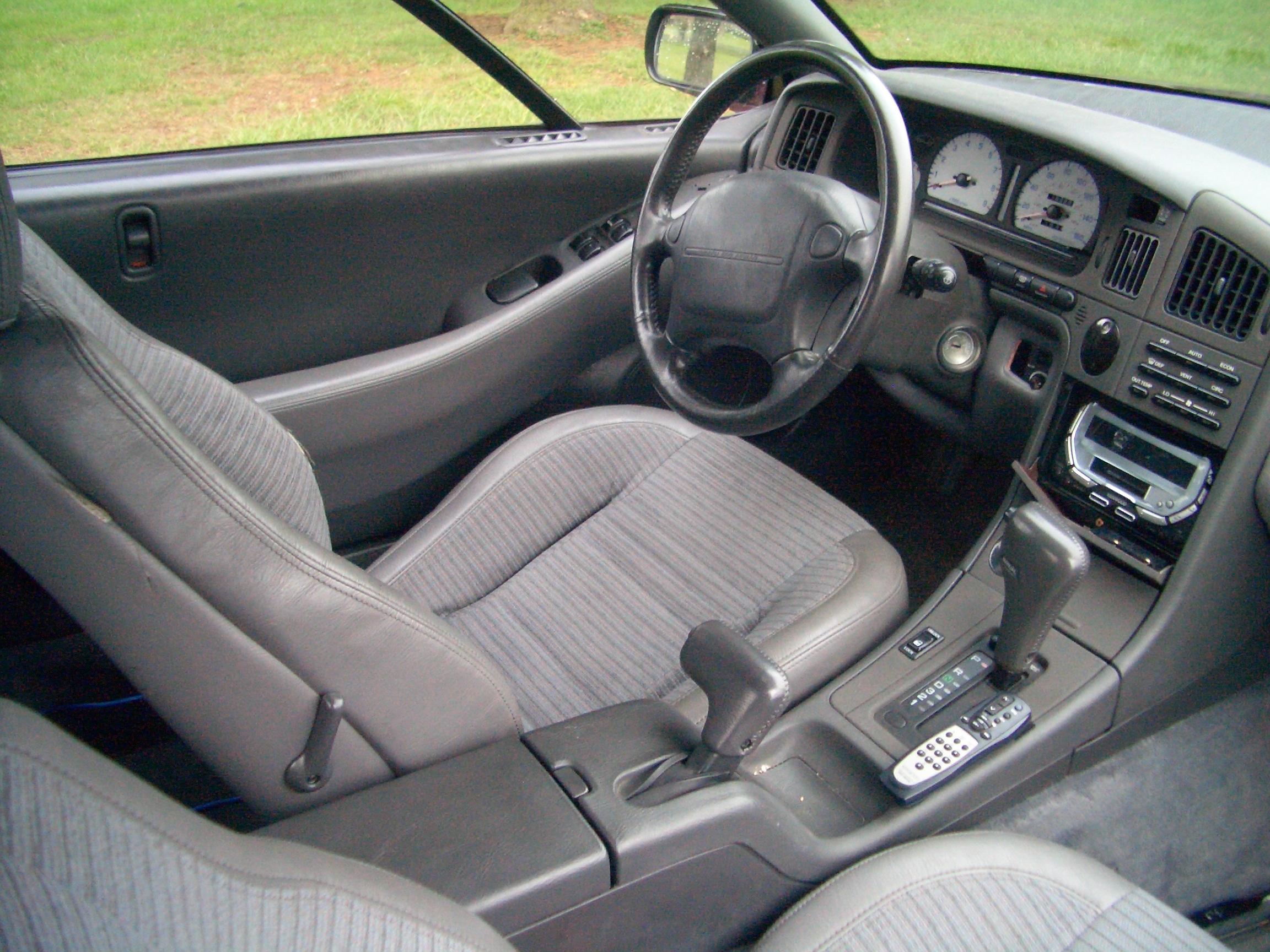Subaru SVX Interior