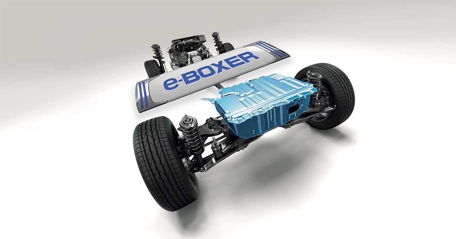 Subaru e-Boxer hybrid engine