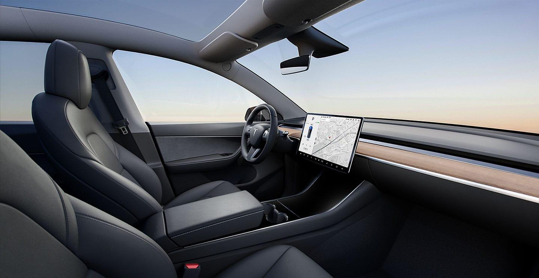 2020 Tesla Model Y Interior