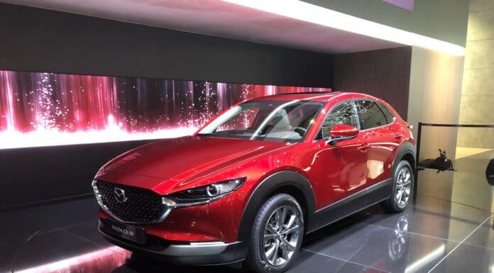 2020 Mazda CX-30 Geneva Motor Show