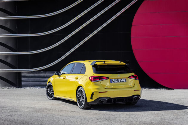 2020 Mercedes-AMG A 35 4Matic Sedan