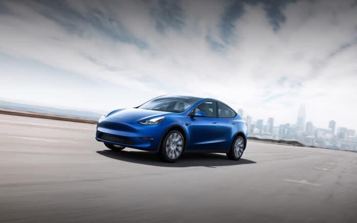 New Tesla Model Y