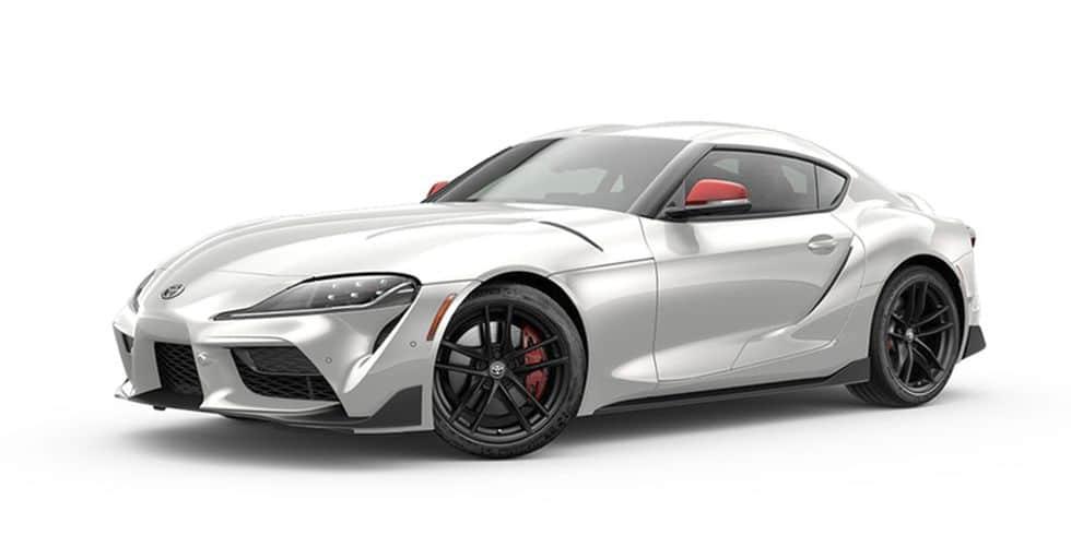 2020 Toyota Supra Absolute Zero White Launch Edition