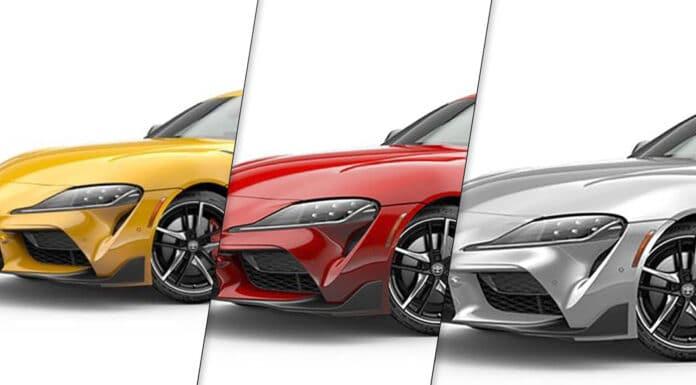 2020 Toyota Supra Colors