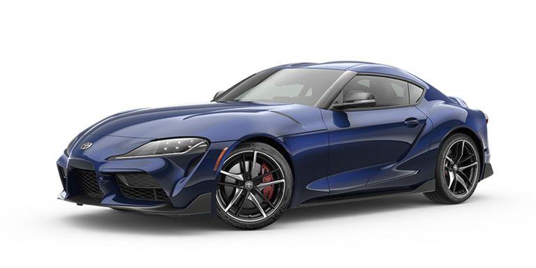 2020 Toyota Supra Downshift Blue