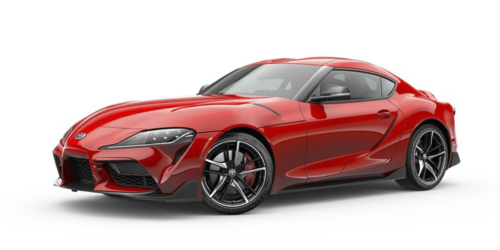 2020 Toyota Supra Renaissance Red 2.0