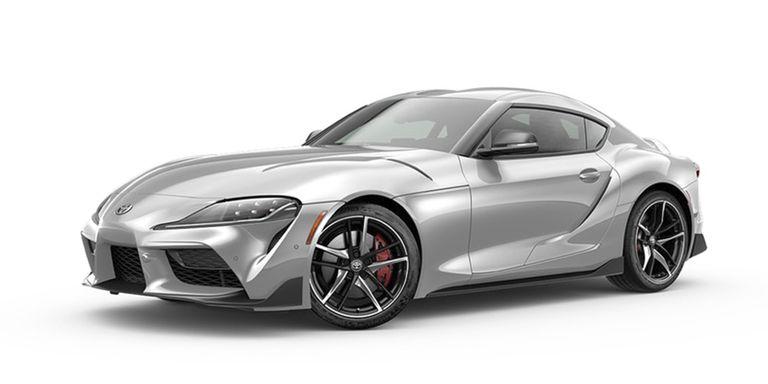 2020 Toyota Supra Tungsten Silver