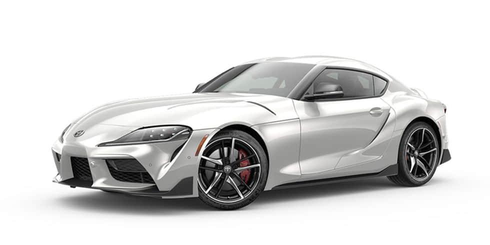 2020 Toyota Supra Absolute Zero White