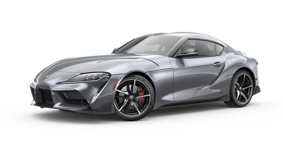 2020 Toyota supra Turbulent Gray