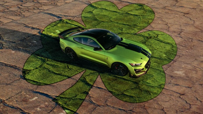 2020 Ford Mustang Grabber Lime Color