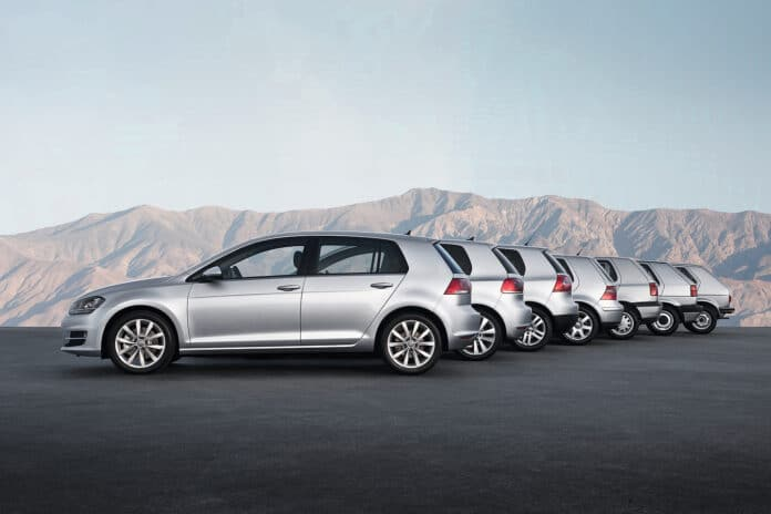 Volkswagen Golf 45 Years