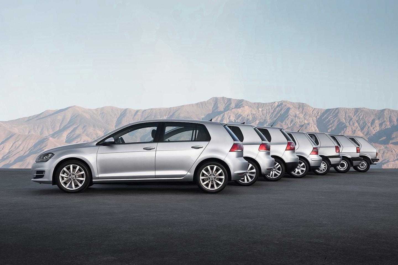 Volkswagen Golf 45 Years