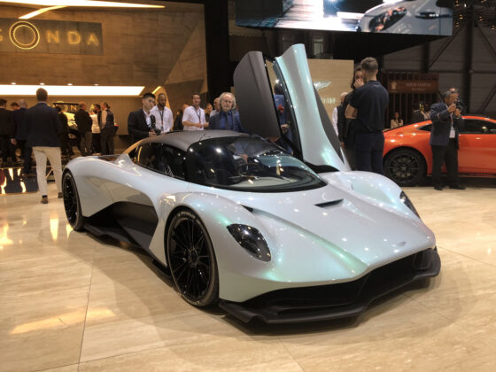 Aston Martin 003 Geneva Motor Show