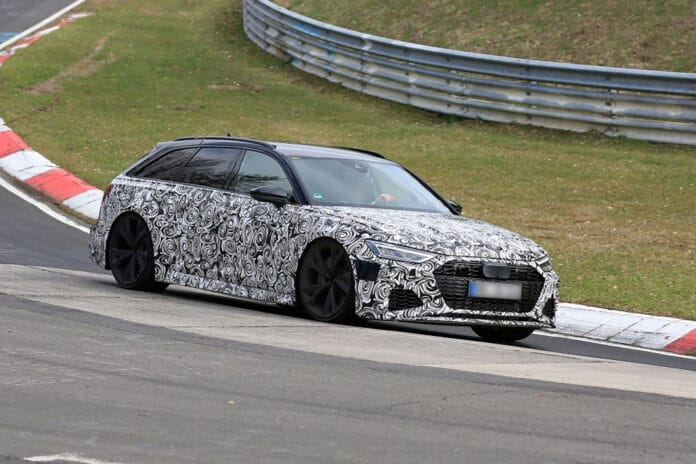 2020 Audi Rs6 Avant Testing As We Await Audi Plans For North America