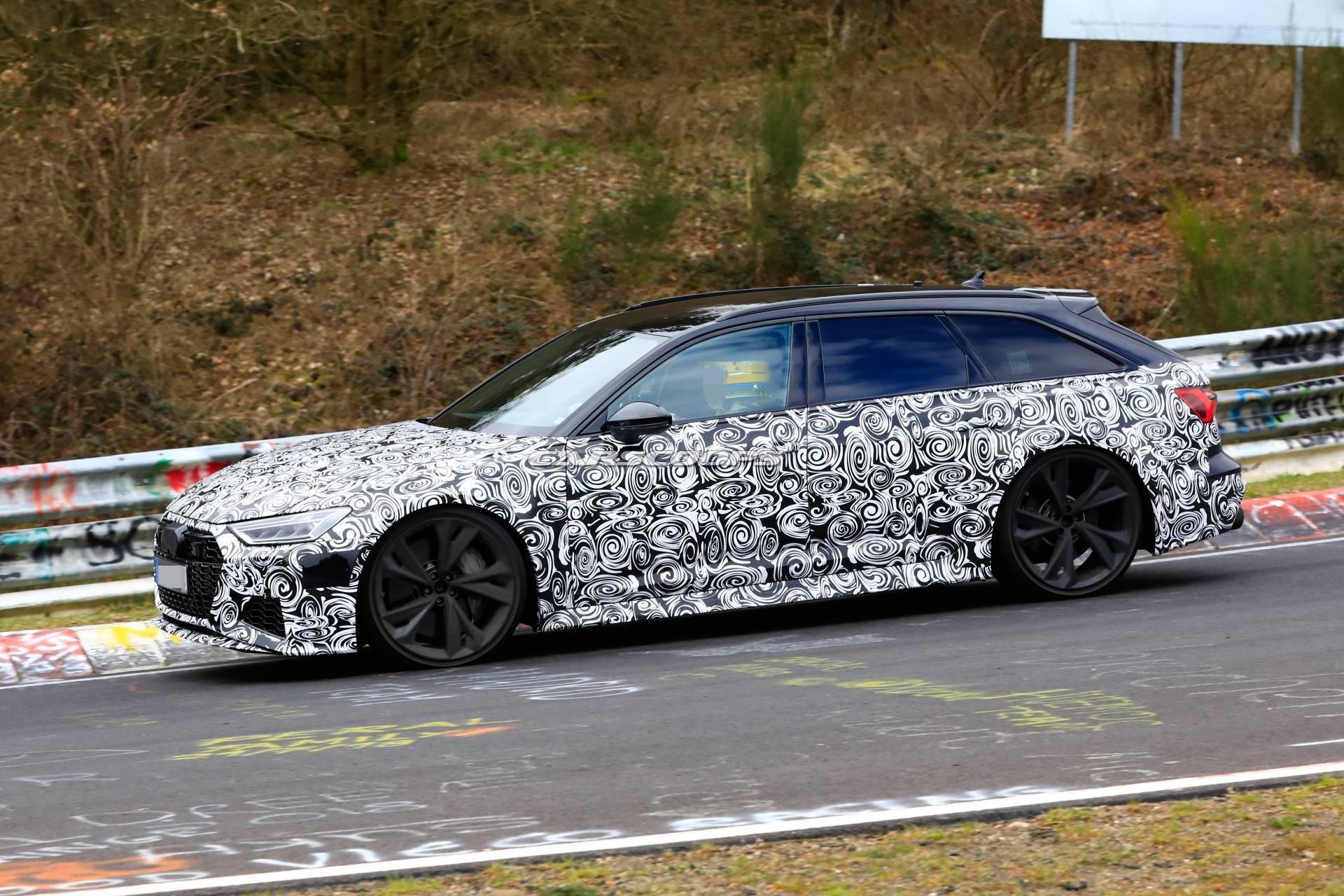 2020 Audi RS6 Spy Shot