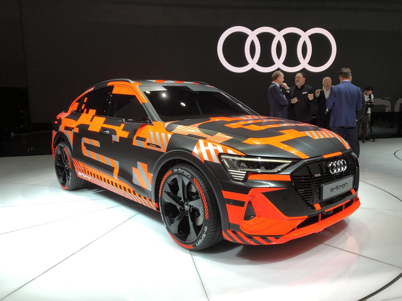New Audi E Tron Sportback Suv Quietly Sat There At Geneva Motor Show Motor Illustrated