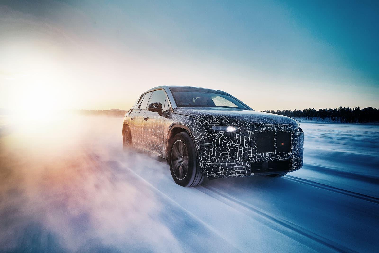 BMW iNEXT EV testing