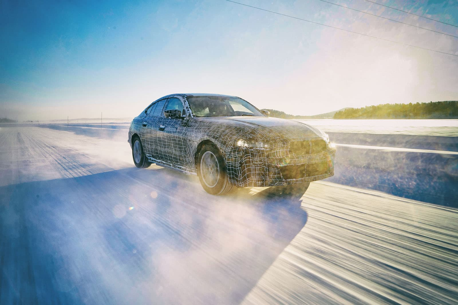 BMW i4 EV Testing