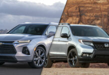 Chevrolet Blazer vs Honda Passport