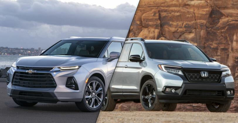Chevrolet Blazer vs Honda Passport