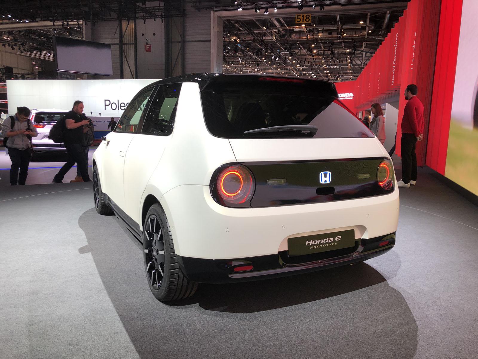 Honda e Prototype Geneva Motor Show