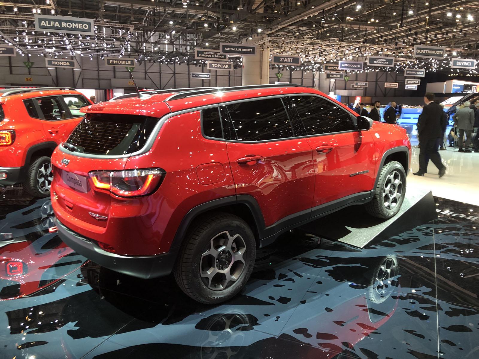 alfa romeo tonale  jeep compass phev lead big geneva motor show for fca