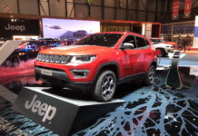 Jeep Compass PHEV Geneva Motor Show