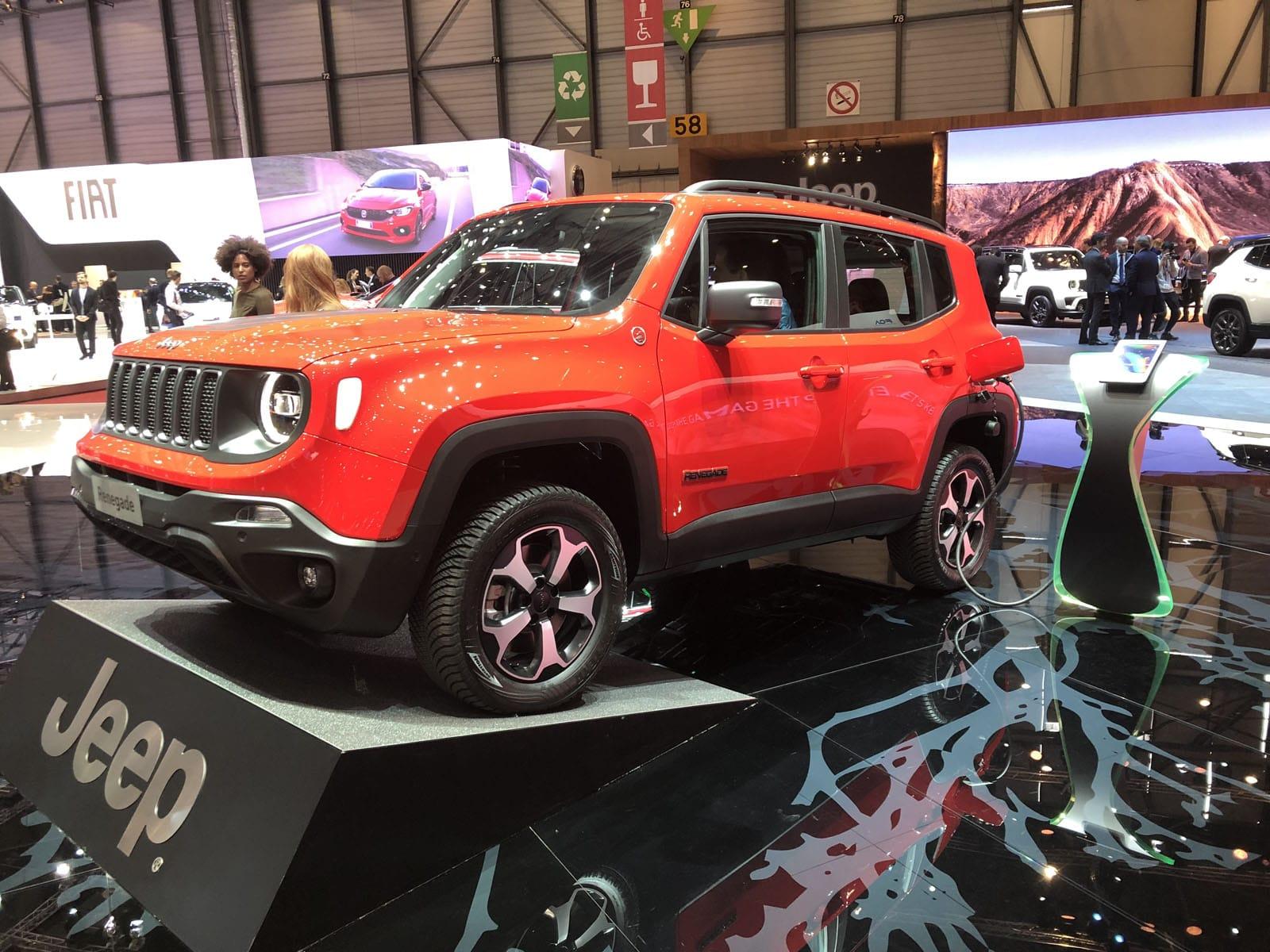 Jeep Renegade E-volution PHEV Geneva Motor Show