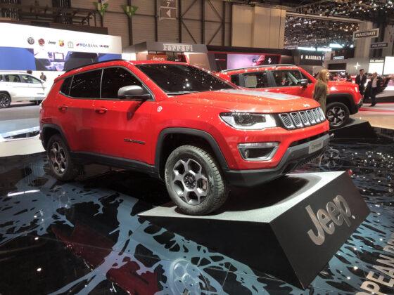 Jeep Compass PHEV E-volution Geneva Motor Show