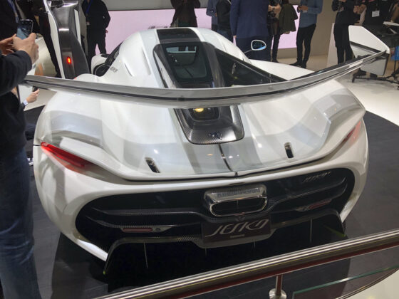 Koenigsegg Jesko Geneva Motor Show