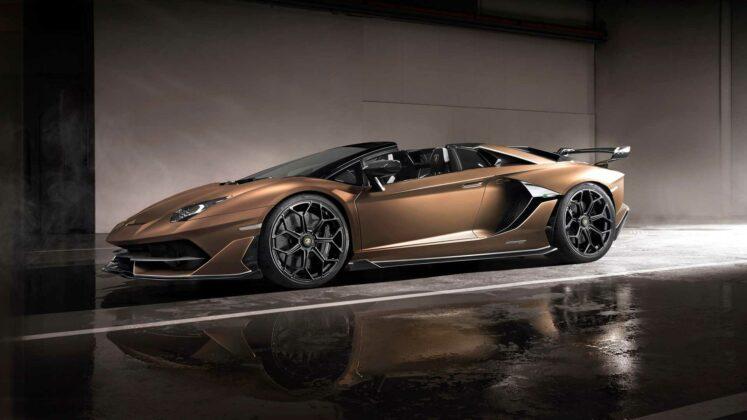 Lamborghini Aventador SVJ Roadster Geneva Motor Show