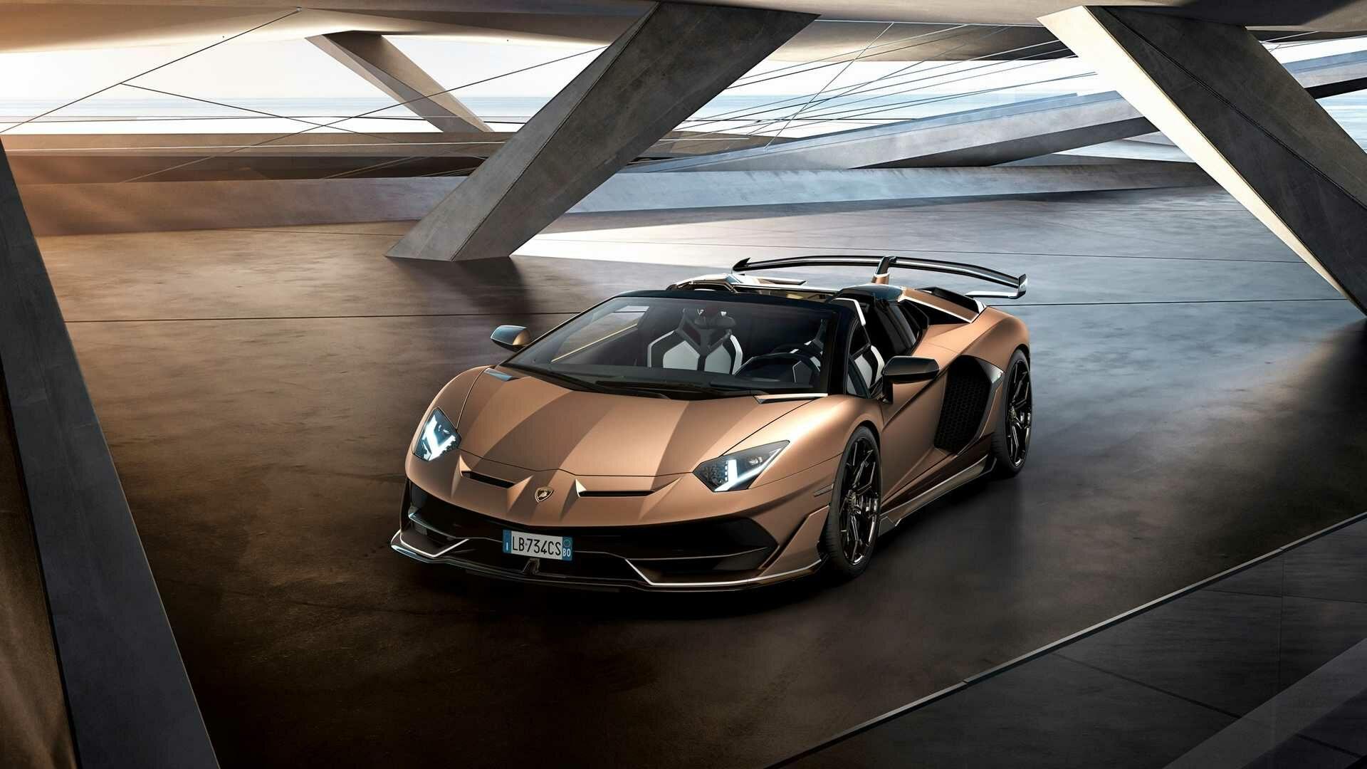 Lamborghini Aventador Supercapacitors