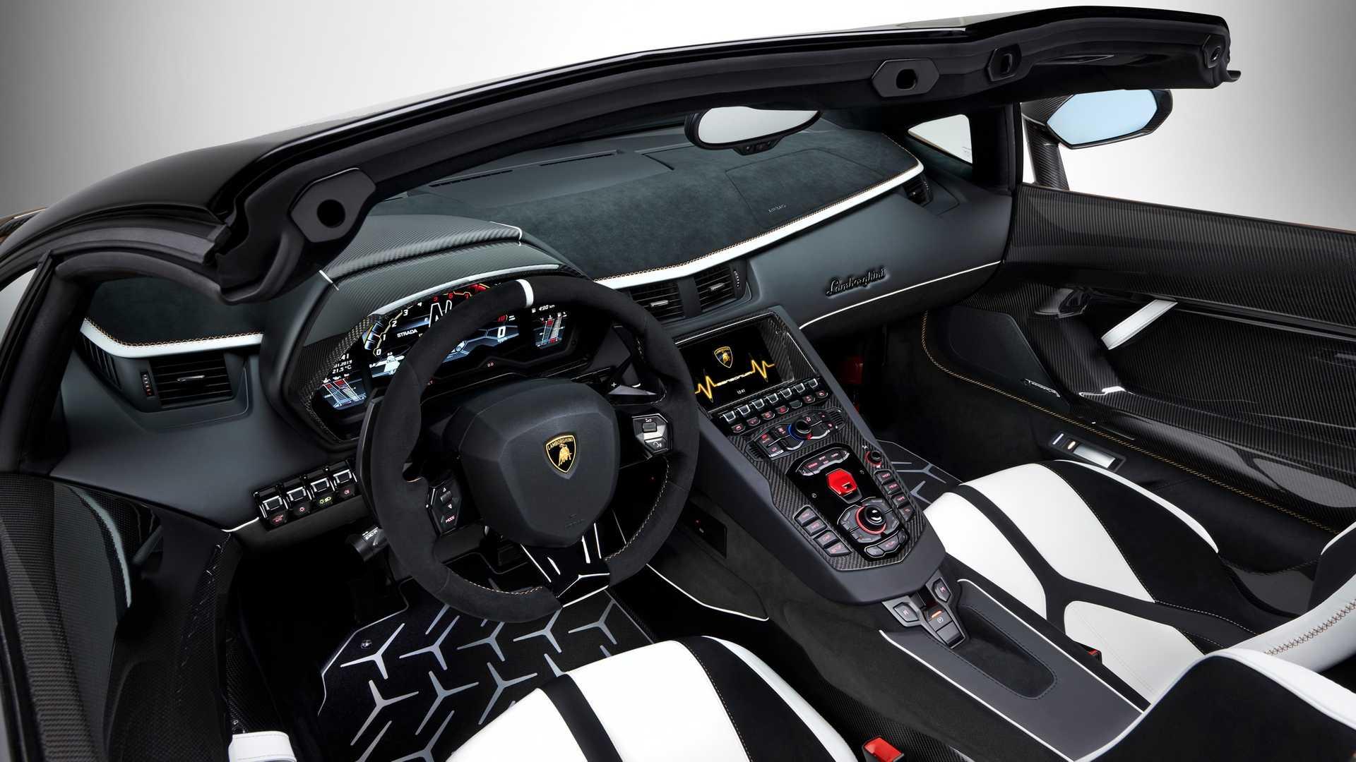 Lamborghini Aventador SVJ Roadster Geneva Motor Show 2