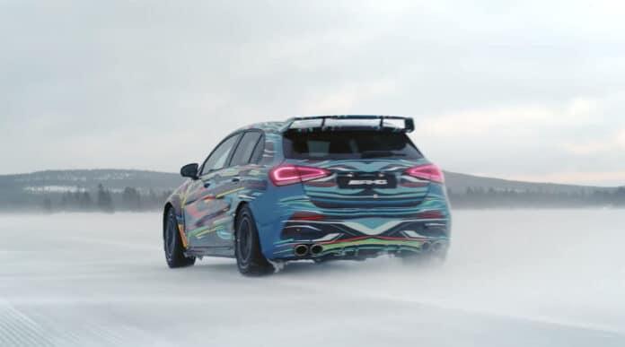 2020 Mercedes-AMG A45 Drifting