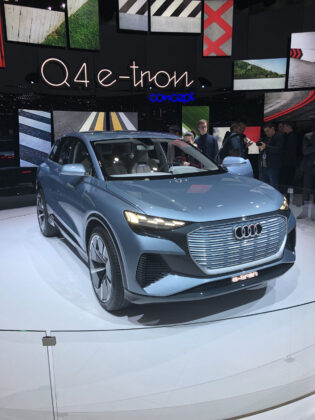 New Audi Q4 e-tron Geneva Motor Show
