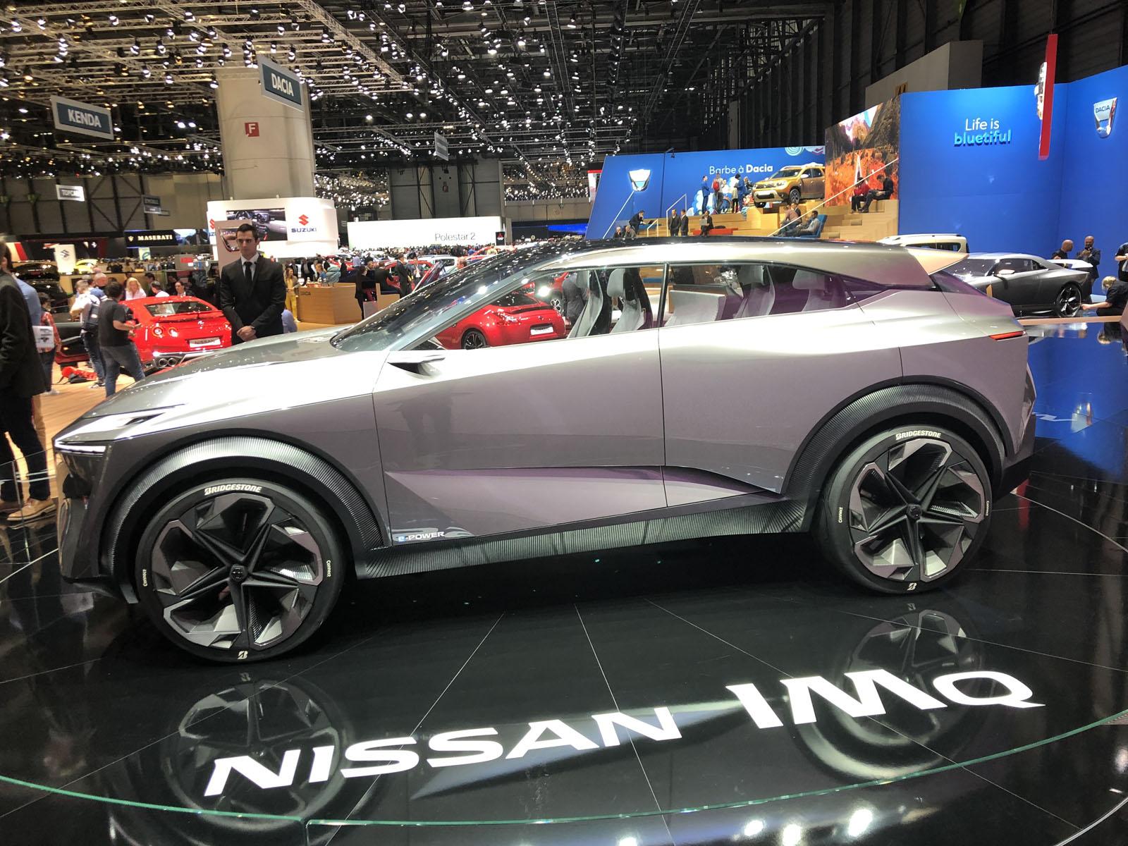 2020 Nissan Qashqai, IMQ Concept Seen at 2019 Geneva Motor ...