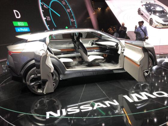 Nissan IMQ Concept Geneva Motor Show