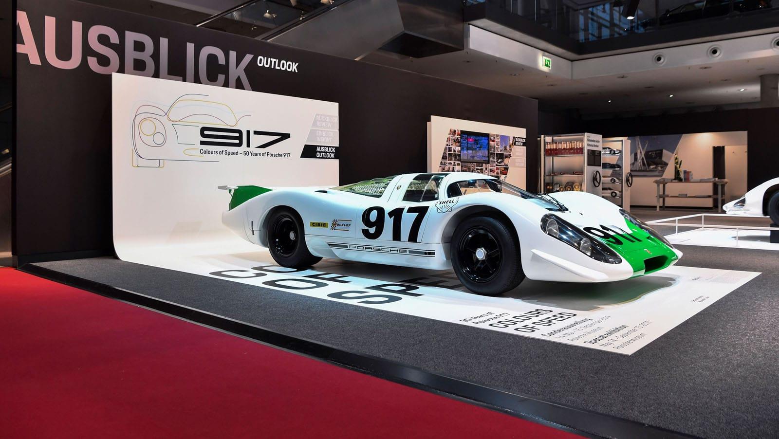 Porsche 917 Restoration