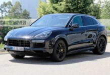 Porsche Cayenne Coupe Spy Shot